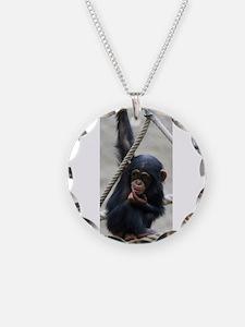 Funny Monkey photo Necklace