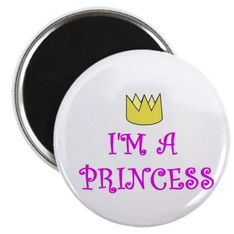 "I'M A PRINCESS 2.25"" Magnet (100 pack)"