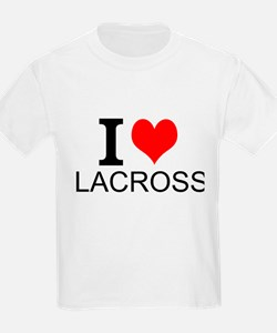 I Love Lacrosse T-Shirt