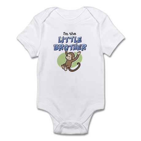 Little Brother - Monkey Infant Bodysuit