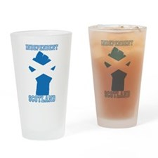 Fist of Freedom Drinking Glass