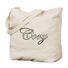 Gold Cory Tote Bag