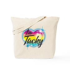Unique Airbrush Tote Bag
