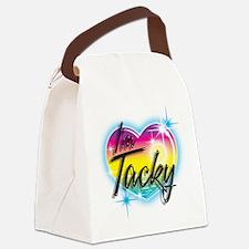 Cute Weird Canvas Lunch Bag