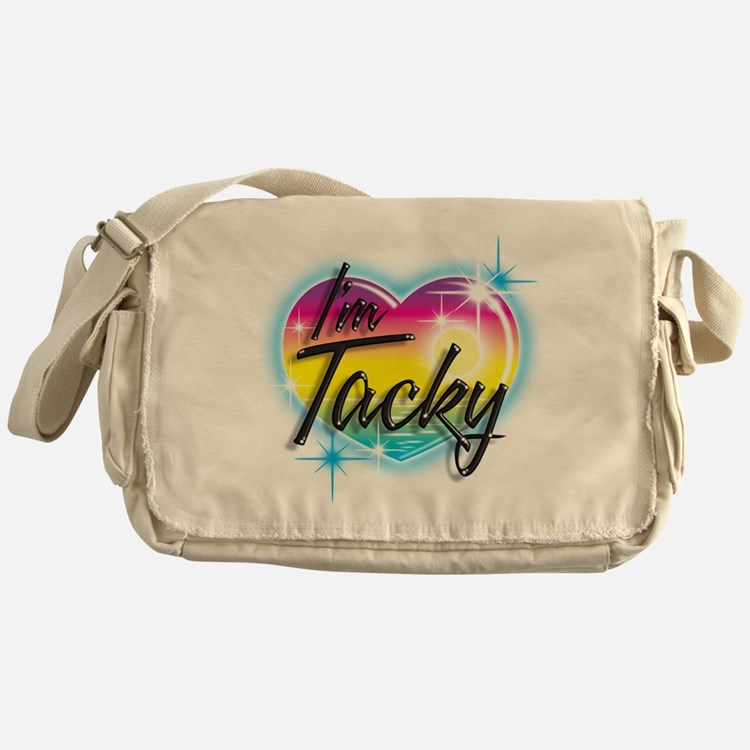 Cute Airbrush Messenger Bag
