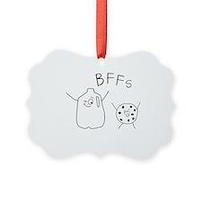 Cute Milk Ornament