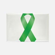 Green Awareness Ribbon Magnets