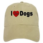 I Love Dogs Cap