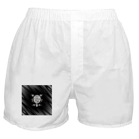 Zebra Skinned Boxer Shorts