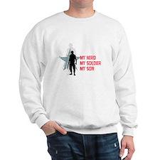 My Hero-My Son Sweatshirt