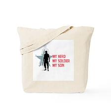 My Hero-My Son Tote Bag