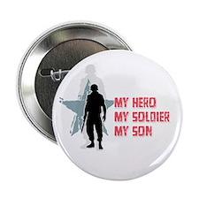 My Hero-My Son Button