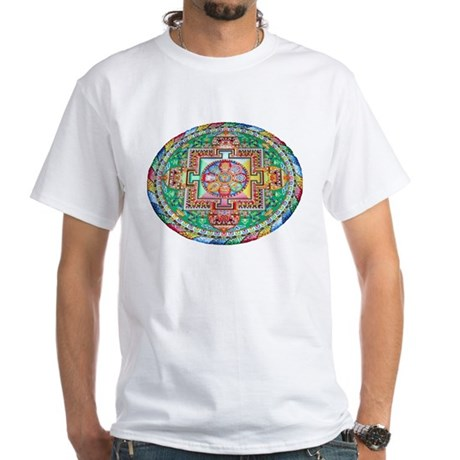 Mandala White T-Shirt