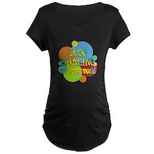Clog Dancing Colors My Worl T-Shirt