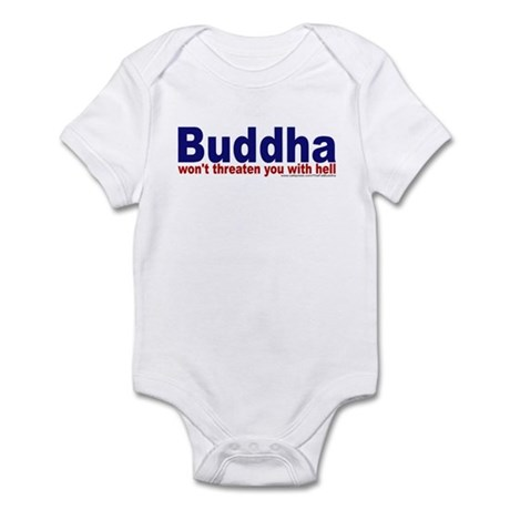 ...won't threaten you with he Infant Bodysuit