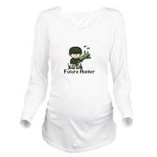 Future Hunter Long Sleeve Maternity T-Shirt