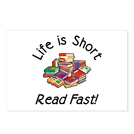 Life is Short<br> Postcards (8)