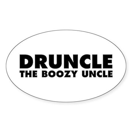 Druncle Sticker (Oval)