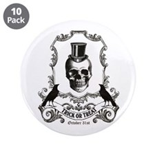 "Unique Vintage halloween 3.5"" Button (10 pack)"