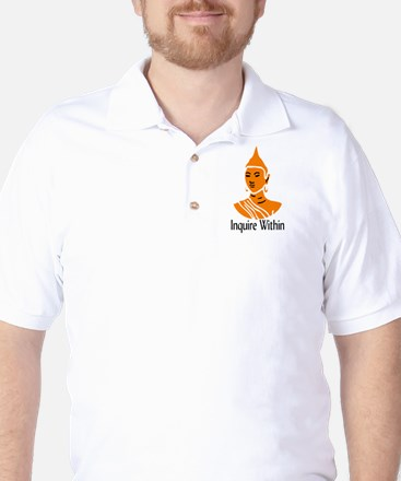 Inquire Within Golf Shirt
