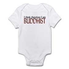 I think, therefore I am... Infant Bodysuit