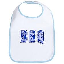 Red White & Blue BBQ Bib
