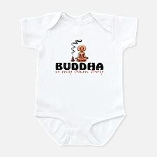 Buddha is my ohm boy Infant Bodysuit