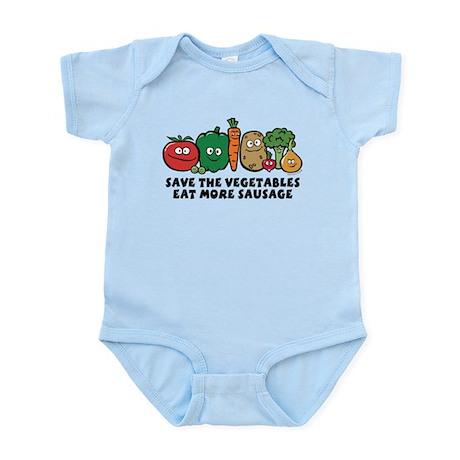 Save The Vegetables Infant Bodysuit