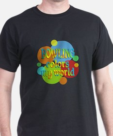 Bowling Colors My World T-Shirt
