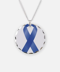 Cute Colon cancer Necklace Circle Charm