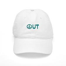 Peace Out Baseball Cap