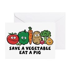 Save a Vegetable Greeting Cards (Pk of 10)