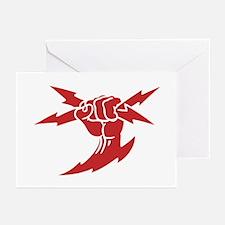 Lightning Fist Greeting Cards (Pk of 10)
