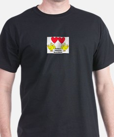 Gettin Hitched to a chick 1 T-Shirt