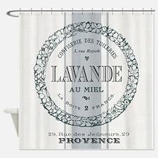 Vintage French Lavender Shower Curtain