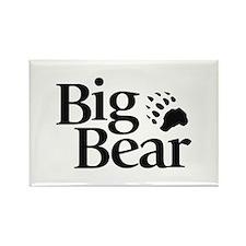 Big Bear Logo Magnets