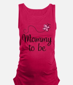 Mommy To Be (pink) Tank Top