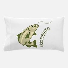 Bass Fishing Pillow Case