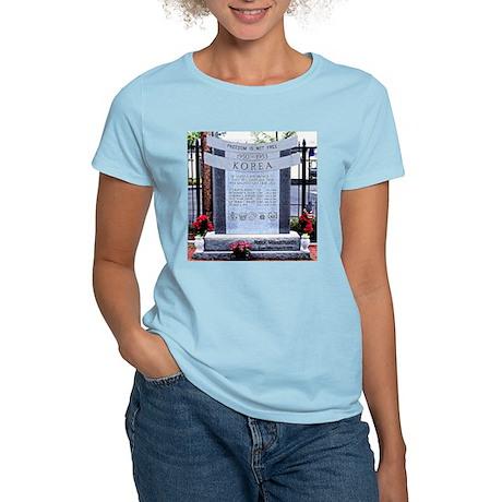 Korean War Memorial, Natick, Women's Light T-Shir