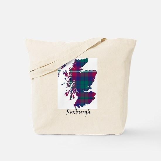 Map - Roxburgh dist. Tote Bag