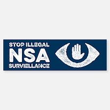 Stop the NSA Bumper Bumper Bumper Sticker