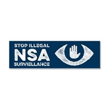 Stop the NSA Car Magnet 10 x 3