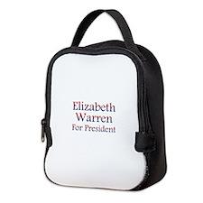 Elizabeth Warren Neoprene Lunch Bag