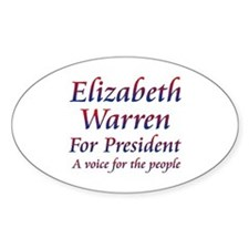 Elizabeth Warren for President Decal