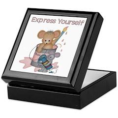 Artist Mouse Keepsake Box