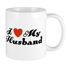 I Love My Husband Coffee Mug