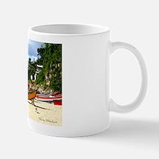 Crash Boat Beach Scene Mug