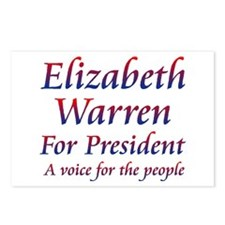 Elizabeth Warren Postcards (Package of 8)