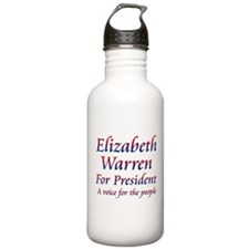 Elizabeth Warren Water Bottle