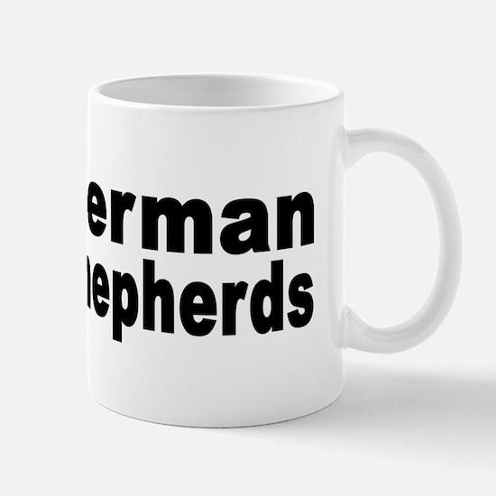 I Love German Shepherds Mug